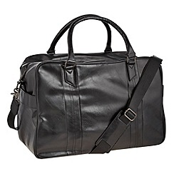 Jeff Banks - Designer black classic large holdall