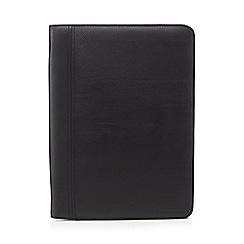 RJR.John Rocha - Black leather business document wallet