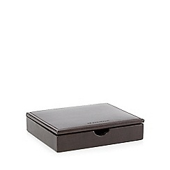 RJR.John Rocha - Brown cufflink box