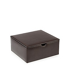 RJR.John Rocha - Brown watch and cufflink box