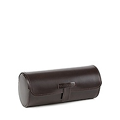 RJR.John Rocha - Brown leather travel watch box
