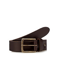 RJR.John Rocha - Brown slim leather belt