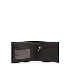 RJR.John Rocha - Brown leather debossed logo wallet