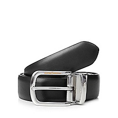 J by Jasper Conran - Black reversible Italian leather belt