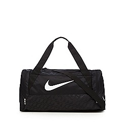 Nike - Black logo holdall bag