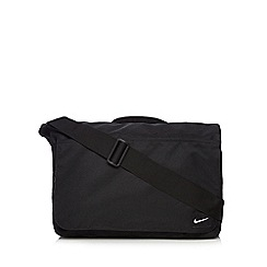 Nike - Black rip tape messenger bag