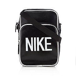 Nike - Black logo cross body bag
