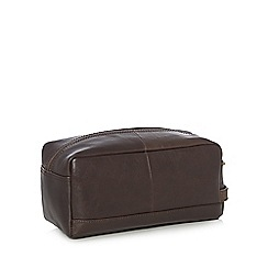 Hammond & Co. by Patrick Grant - Brown 'Jupiter' wash bag