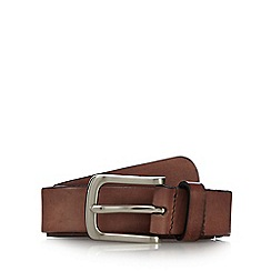 J by Jasper Conran - Brown Italian leather belt