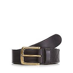 RJR.John Rocha - Black leather pin buckle fastening