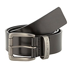 Red Herring - Black roll buckle belt