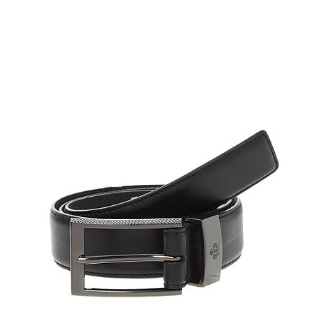Jeff Banks - Designer black large buckle belt