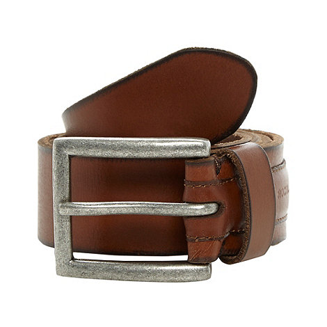 RJR.John Rocha - Designer tan embossed leather belt