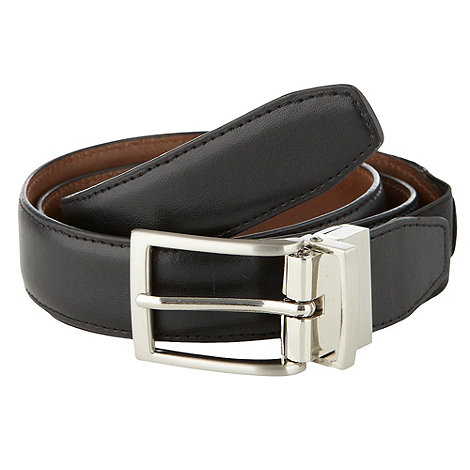 Thomas Nash - Black reversible belt