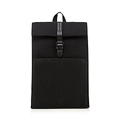 J by Jasper Conran - Black twill back pack