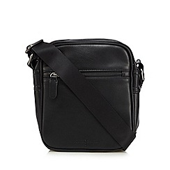 J by Jasper Conran - Black zip cross body bag