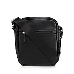 J by Jasper Conran - Black zip cross body bag