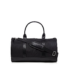 J by Jasper Conran - Black zip holdall bag