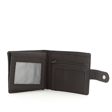Thomas Nash - Black nylon tab wallet