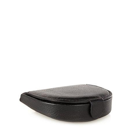 Thomas Nash - Black leather coin wallet