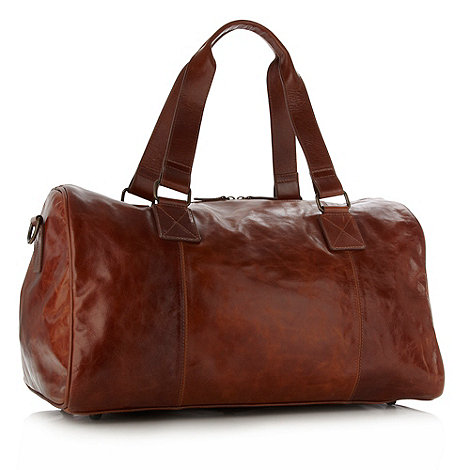 RJR.John Rocha - Designer tan leather holdall