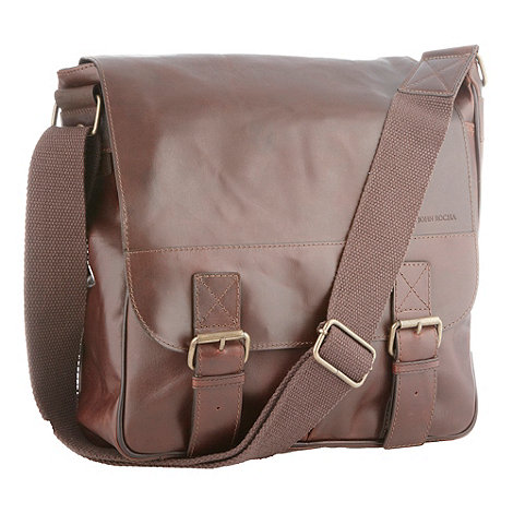 RJR.John Rocha - Designer brown leather utility bag