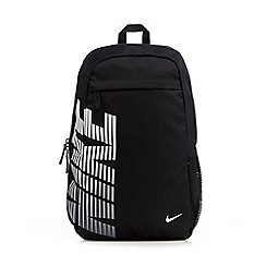 Nike - Black logo printed backpack