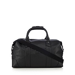 Jeff Banks - Black matte holdall bag