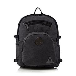 Mantaray - Grey canvas backpack