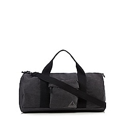 Mantaray - Grey canvas holdall bag