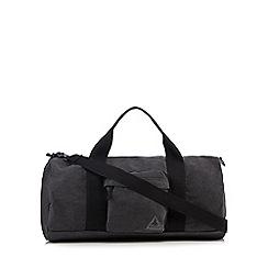 Mantaray - Grey canvas holdall bag
