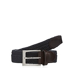 Maine New England - Big and tall grey webbing buckle belt