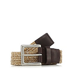 Maine New England - Multicoloured woven buckle belt