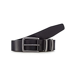 The Collection - Black leather buckle belt