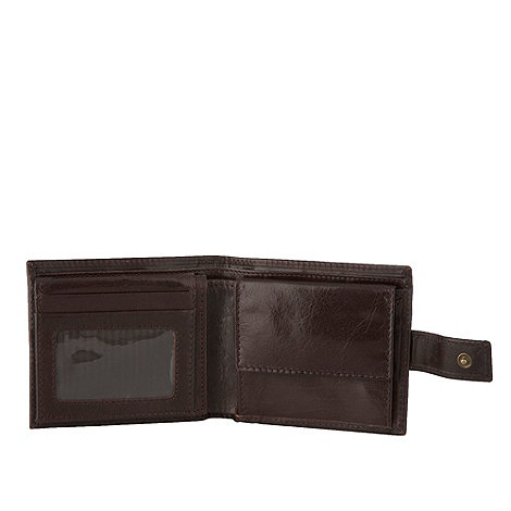 RJR.John Rocha - Designer brown italian leather wallet