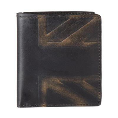 Union Jack embossed wallet