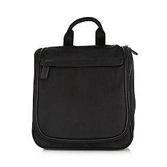 J by Jasper Conran - Designer black fold-out wash bag