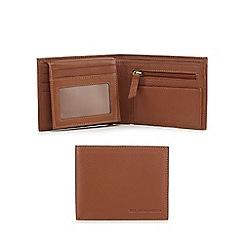 RJR.John Rocha - Tan grained leather wallet