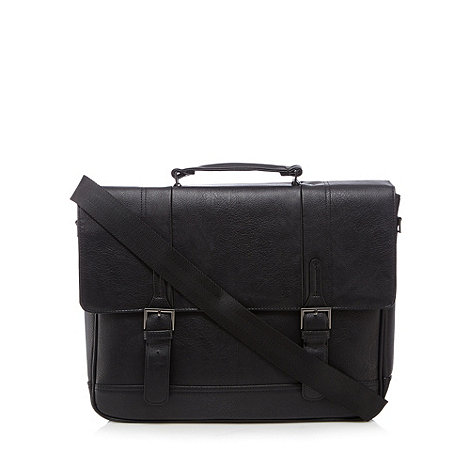 J by Jasper Conran - Designer black business briefcase