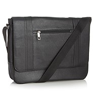 J by Jasper Conran - Designer black geometric despatch bag