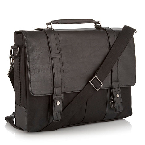 J by Jasper Conran - Designer black pleated pocket bag