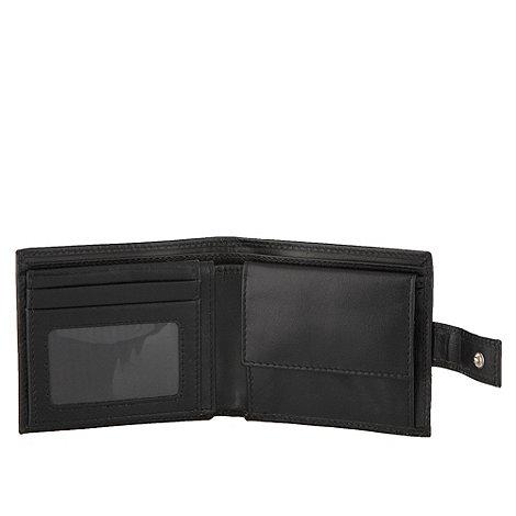 RJR.John Rocha - Designer black italian leather wallet