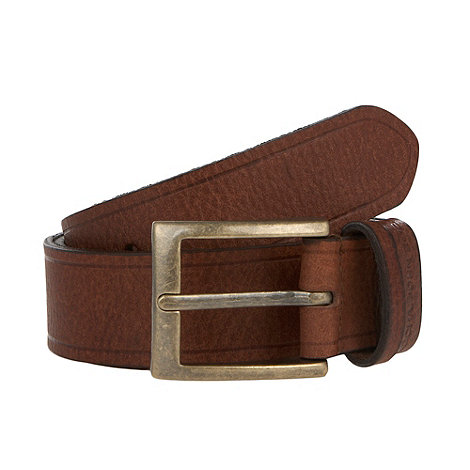 RJR.John Rocha - Designer brown grained leather belt
