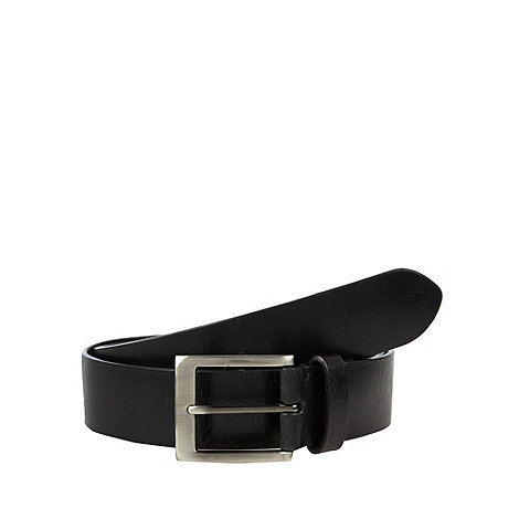 RJR.John Rocha - Designer black chunky leather belt