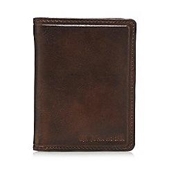 RJR.John Rocha - Dark brown leather wallet