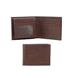 RJR.John Rocha - Brown grained leather wallet