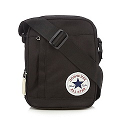 Converse - Black 'All Star' cross body bag