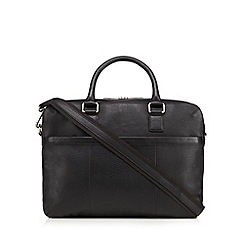 Hammond & Co. by Patrick Grant - Black leather tote bag