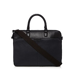 J by Jasper Conran - Navy leather colour block bag