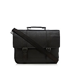 J by Jasper Conran - Brown laptop compartment briefcase